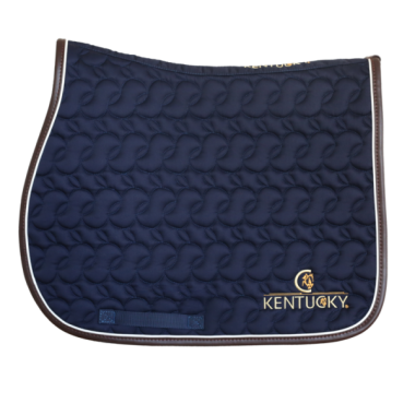 Kentucky saddle pad navy