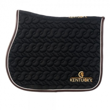 Kentucky saddle pad black