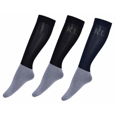 KL Schlern Ladies Assorted Show Socks 3-pack