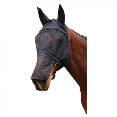 fly mask with nose protection