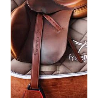 Freejump leather stirrups
