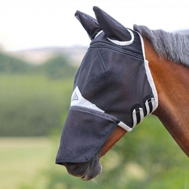 Field Durable Fly Mask With Ears & Nose