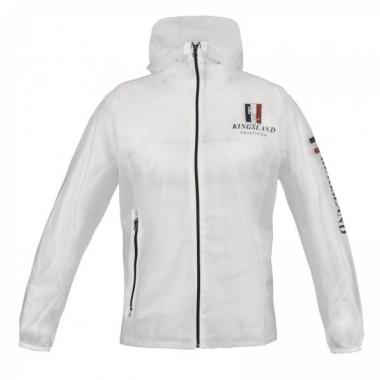 Bastide Bastide Ladies Transparent Rain Jacket