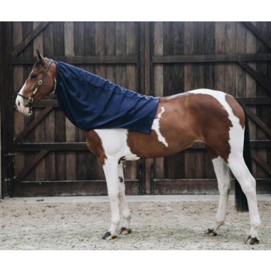 Kentucky Cooler Fleece Horse scarf navy, size Full