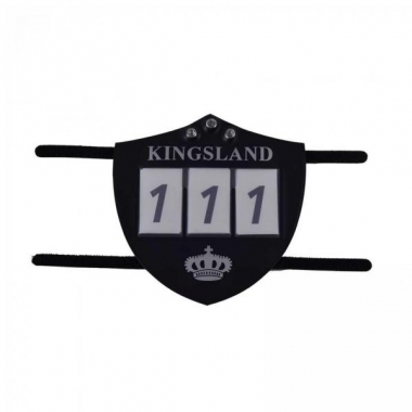 KLilar Number Plate For Bridle