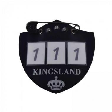 KLiban Number plate for saddle pad