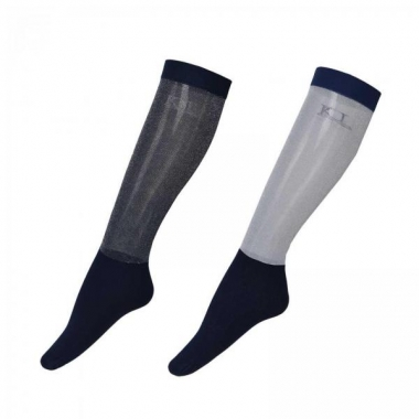 KLiesha Ladies Show Socks 2-Pack