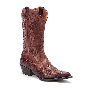Ariat cowboy boots brown