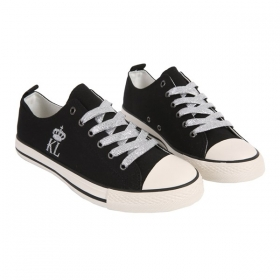 KL low shoes Lioyd black