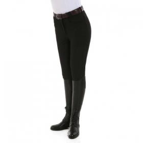 KL ladies breeches Kelly black shiny