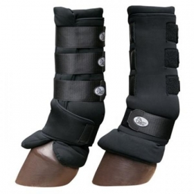 Protection boots with gentle sheathing