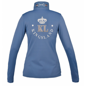 KL Blanche Ladies Long Sleeve Polo Pique