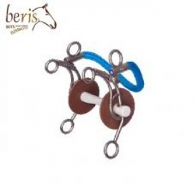 beris leather full cheek bit