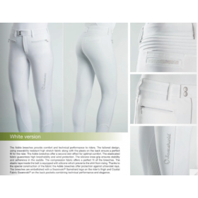 Samshield ladies breeches Adele white