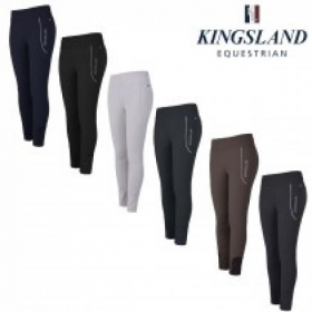 KL Katja Pull On Breeches E-Tec Knee Grip for Ladies