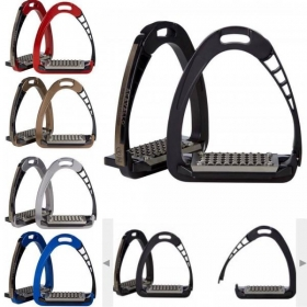 Metalab Air System Extra Grip alumiinium  stirrups