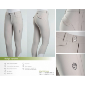 Samshield ladies breeches Hortense grey