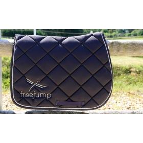 Freejump saddle pad brown