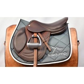 Freejump saddle pad grey