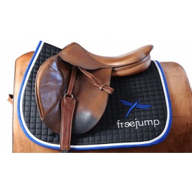 Freejump premium saddle pad navy