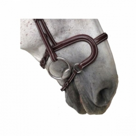 K-horse bridles Arezzo headpiece+H classic noseband