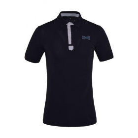 KL Glasse Men Technical Pique Polo Shirt