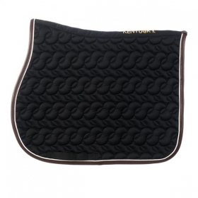 Kentucky saddle pad black no logo