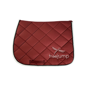 Freejump saddle pad red