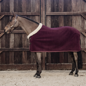 kentucky Fleece show rug 'heavy' bordeaux