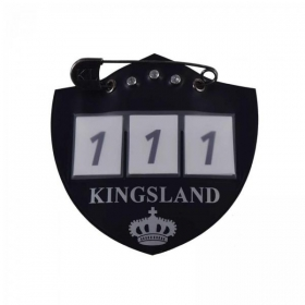 KLiban Number plate for saddle pad