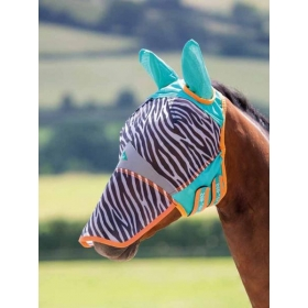 Fine fly mask with ears and nose