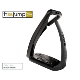 Freejump Softup pro stirrups black/black