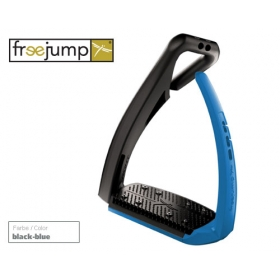 Freejump Softup pro stirrups black/blue