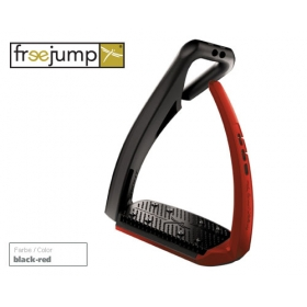 Freejump Softup pro stirrups black/red