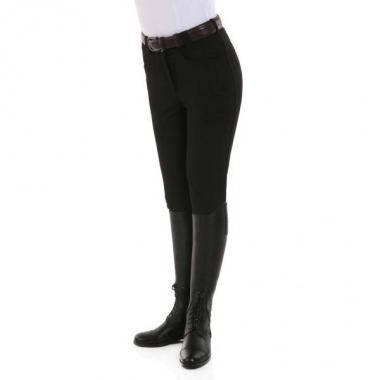 KL ladies breeches Kelly black shiny
