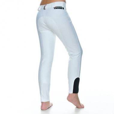 Kingsland tütarlaste täisnahksed püksid Kathrin valge