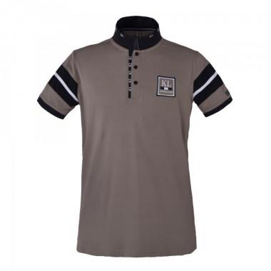 KL Javier Mens Tec Pique Polo Shirt