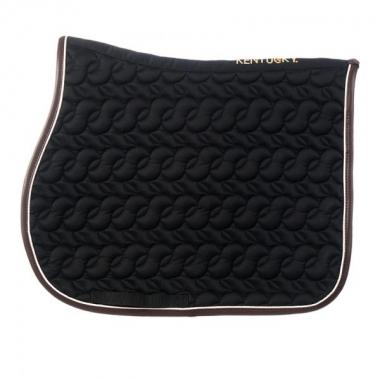 Kentucky saddle pad black no logo