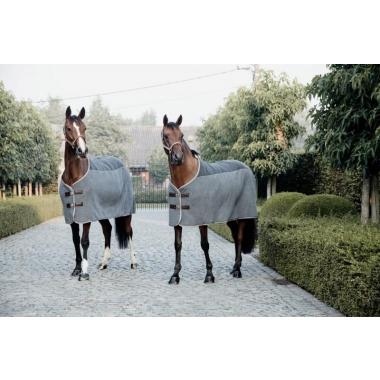 Kentucky heavy fleece rug grey