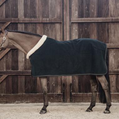 Kentucky Fleece show rug 'heavy' pine green
