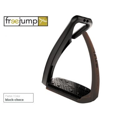 Freejump Softup pro jalused must/choco