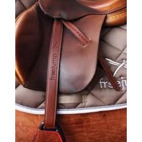 Freejump leather stirrups