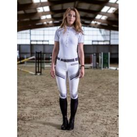 Horse Pilot naiste püksid Explosive valge