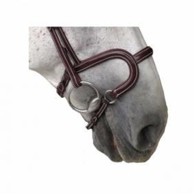 K-horse bridles Arezzo headpiece+H classic noseband