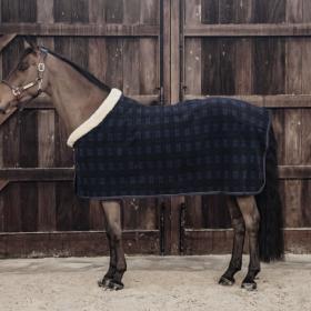 Kentucky Fleece show rug 'heavy' check printing
