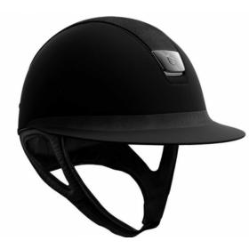 Samshield matt basic helmet alcantara
