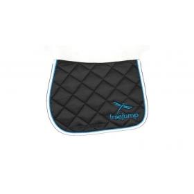 Freejump saddle pad blue