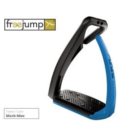 Freejump Softup pro stirrups black/blue