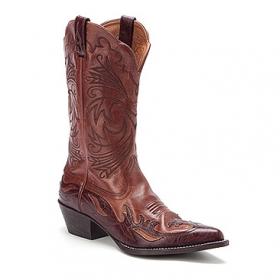 Ariat cowboy boots brown
